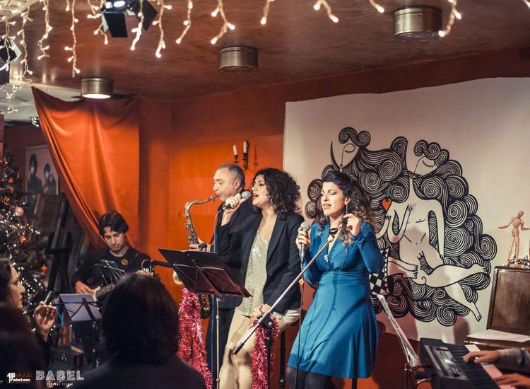 Σοφία Παπάζογλου και Ναταλία Ρασούλη με Jazz διάθεση στη «ΒΑΒΕΛ»