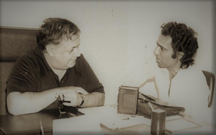 Όταν ο Γιάννης Φλέσσας συνάντησε τον Μάνο Χατζιδάκι