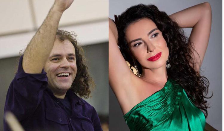 Η Κλεονίκη  Δεμίρη και ο Νίκος Πλατύραχος στο Δημοτικό Θέατρο Χανίων