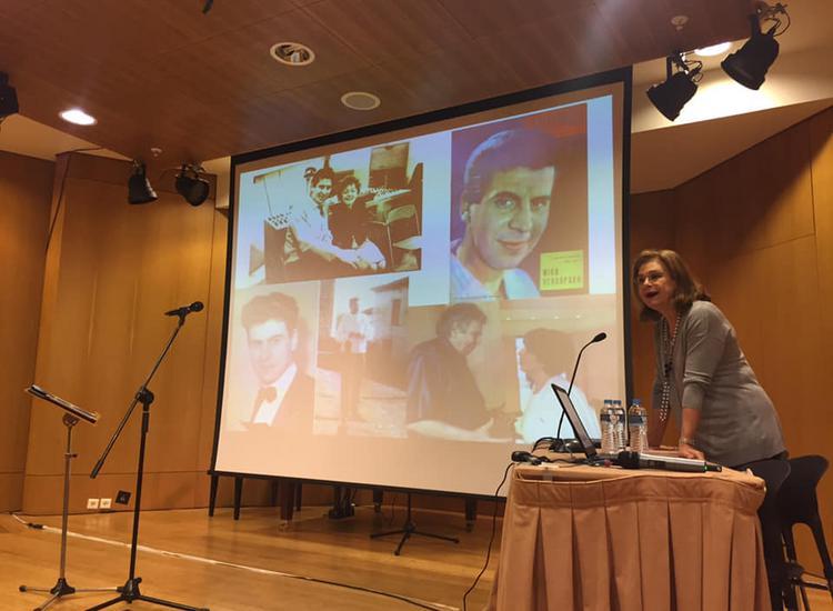 «Ταξίδι στον κόσμο με την μουσική του Μίκη Θεοδωράκη» με τη Μπέττυ Χαρλαύτη και τον Γιάννη Μπελώνη