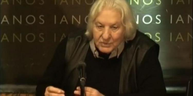 Πέθανε ο συνθέτης και μουσικολόγος Χριστόδουλος Χάλαρης