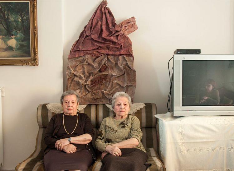 Οι Αδελφές Χρυσούλα Ελιασά και Φορτουνέ Γκανή από τα Γιάννενα στο Άουσβιτς  2014