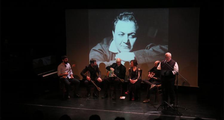 Το αδιαχώρητο στη διάλεξη για το Ρεμπέτικο στο Θέατρο Τέχνης- 70 χρόνια μετά