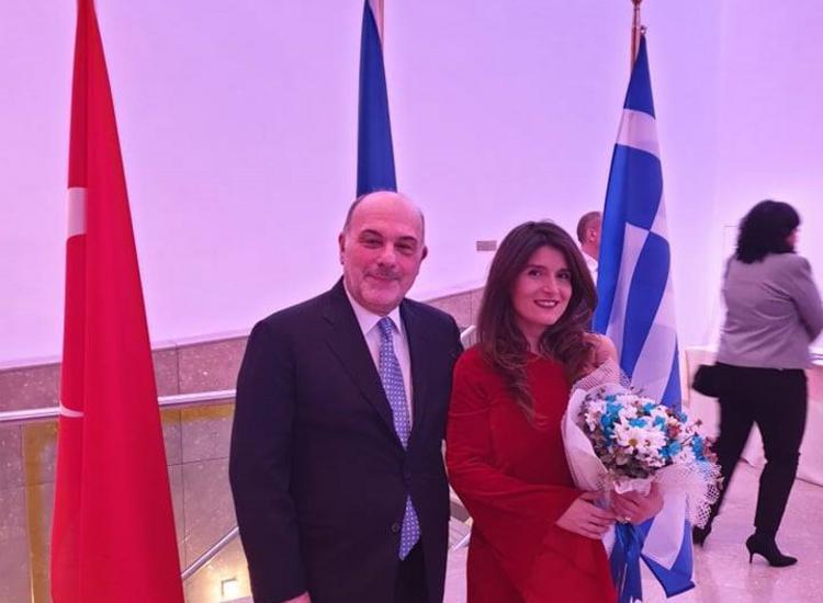 Μπέττυ Χαρλαύτη: «Πρέσβειρα» της Ελλάδας σε Βρυξέλλες και Άγκυρα με δύο συναυλίες ύψιστου συμβολισμού
