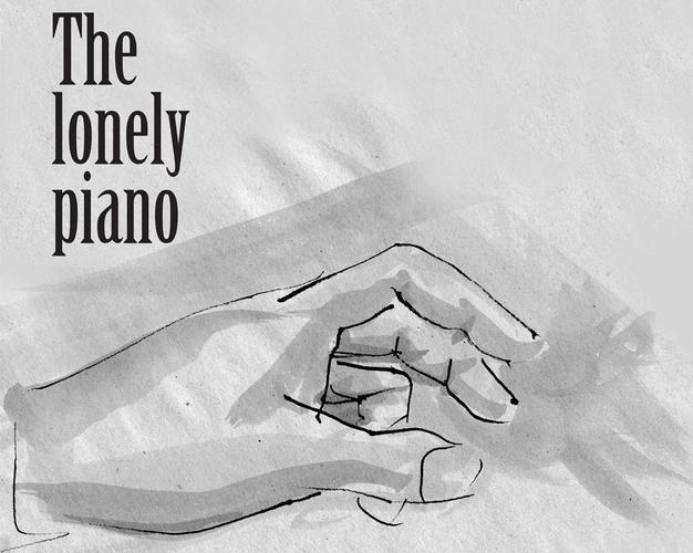 «The Lonely Piano» από τον Αποστόλη Αρμάγο