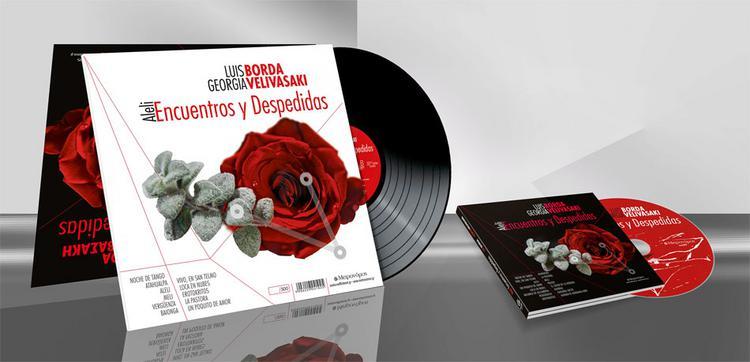 «Encuentros y Despedidas» από τον Luis Borda και τη Γεωργία Βεληβασάκη