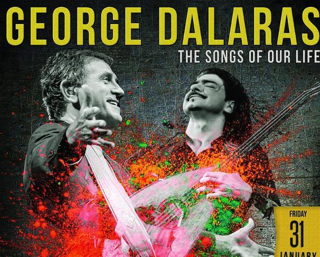 O Γιώργος Νταλάρας και ο Μιχάλης Τζουγανάκης σε περιοδεία στην Αμερική