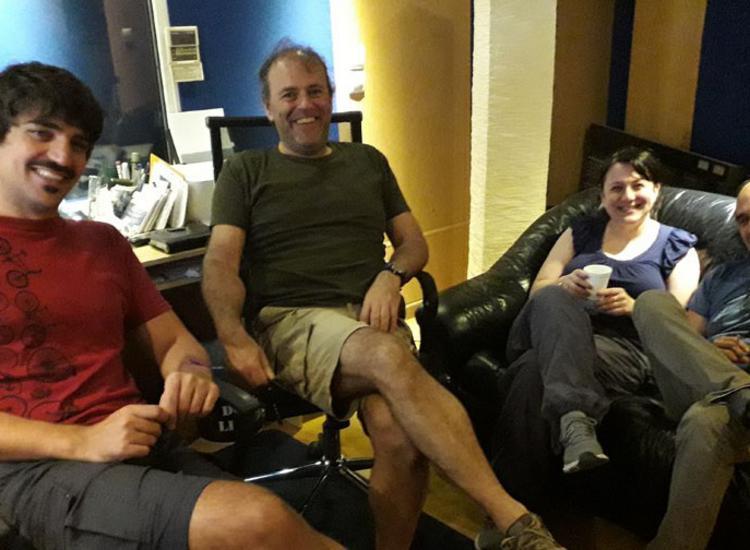 Στο στούντιο με τους «Κουαρτέτοιους» και τη ΣΟΛ ΔΙΑΙΤΑ τους