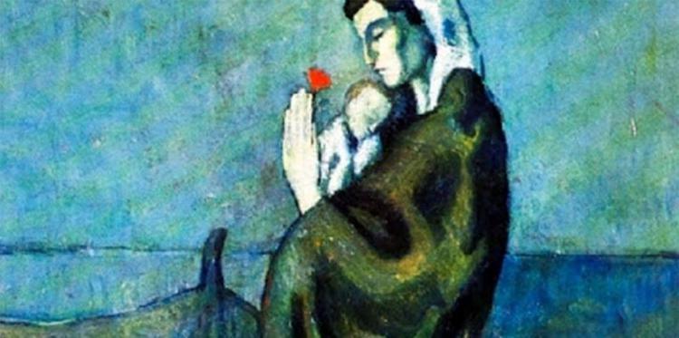 Maternite au bord de la mer  του Pablo Picasso
