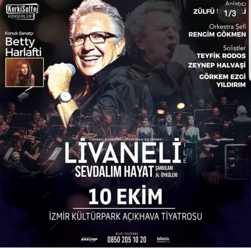 Στην Τουρκία η Μπέττυ Χαρλαύτη, καλεσμένη του Λιβανελί, για να τραγουδήσει Μίκη Θεοδωράκη